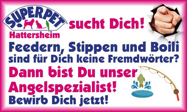 SUPERPET Hattersheim sucht Angelspezialisten!