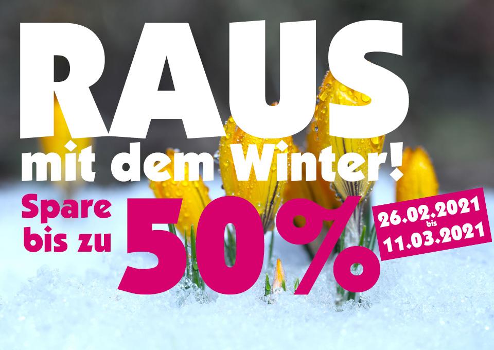 RAUS mit dem Winter!