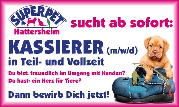 SUPERPET Hattersheim sucht Kassierer